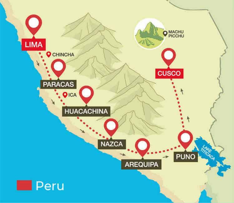 Lima to Cusco Peru Hop