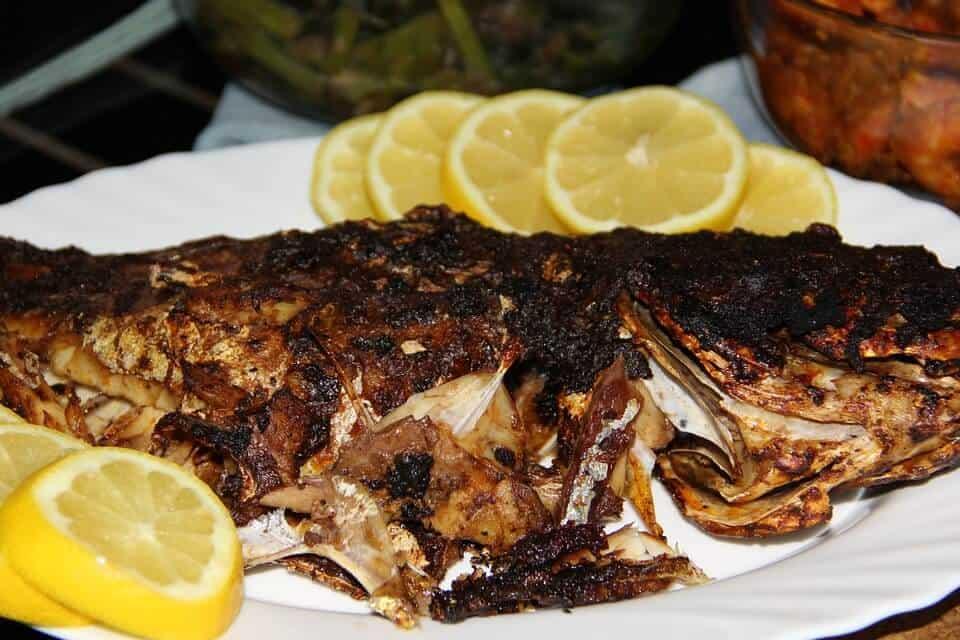 grilled piranha peruvian cuisine peruvian dish peruvian food
