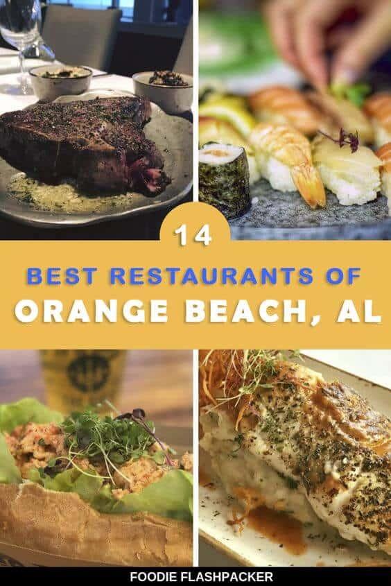 best orange beach restaurants