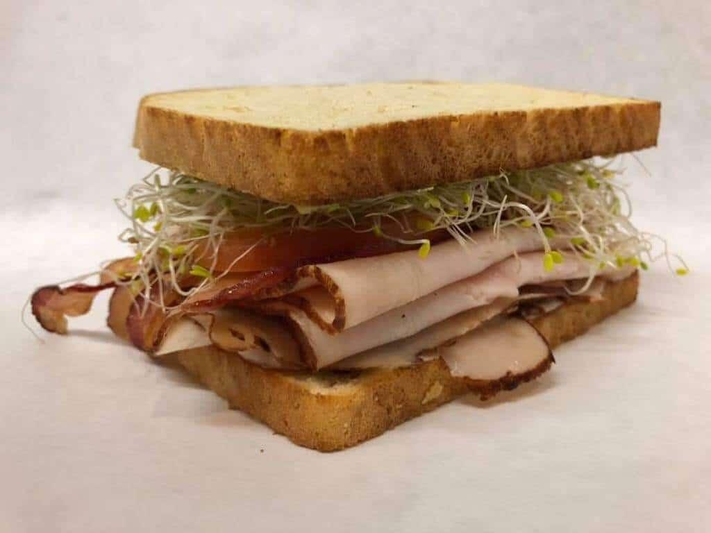 turkey sandwich with bacon best restaurants Vallejo California