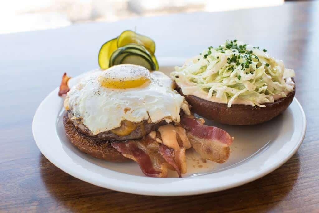 bacon cheeseburger with egg Summerlin restaurants
