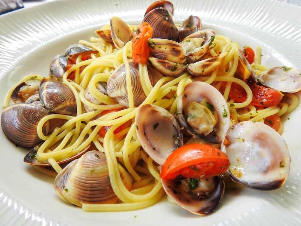 linguine with clams restaurants in Vallejo CA