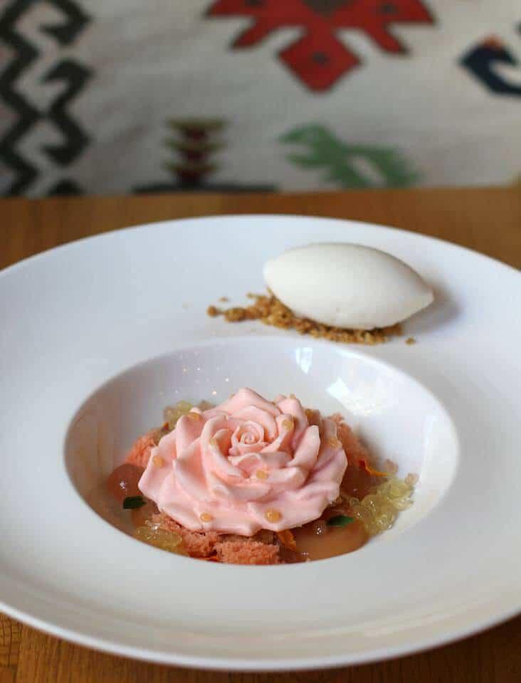Where to Eat in Sofia, Bulgaria – Cosmos - Bulgarian Rose Dessert