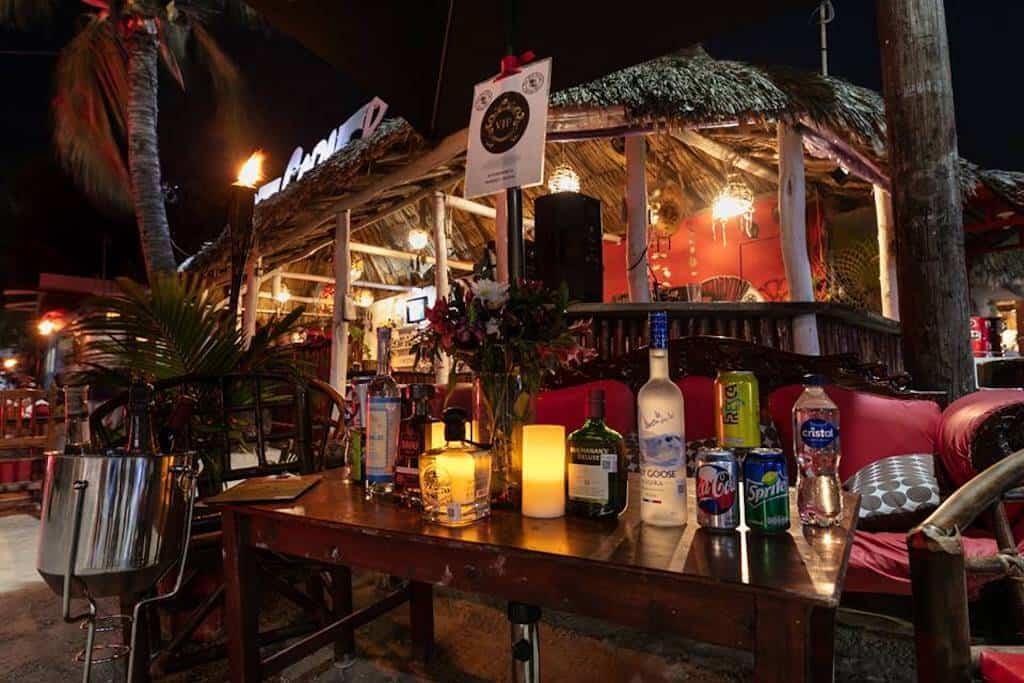 Hot Corner Bar Holbox Island, Mexico