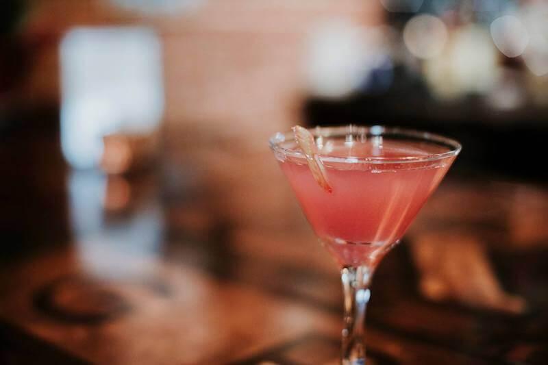 rhubarb martini Bismarck restaurants
