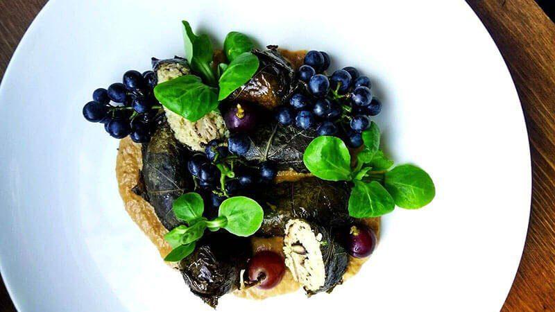 Must Try Poznan Restaurants - Where to Eat in Poznan, Poland - Pod Niebieniem - Vegetarian Dish