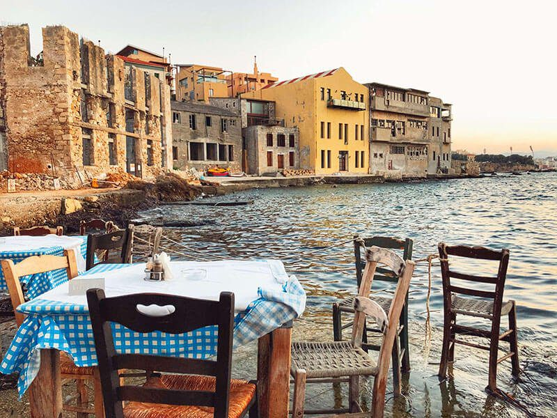The 10 Best Chania Restaurants - Where to Eat on Chania, Crete, Greece - Thalasino Ageri