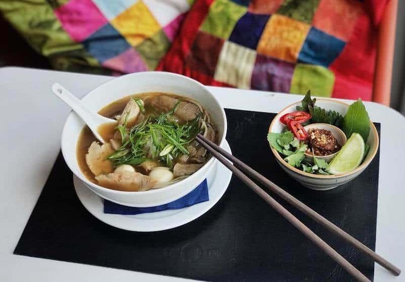 bowl of pho Vietnamese food Kiev