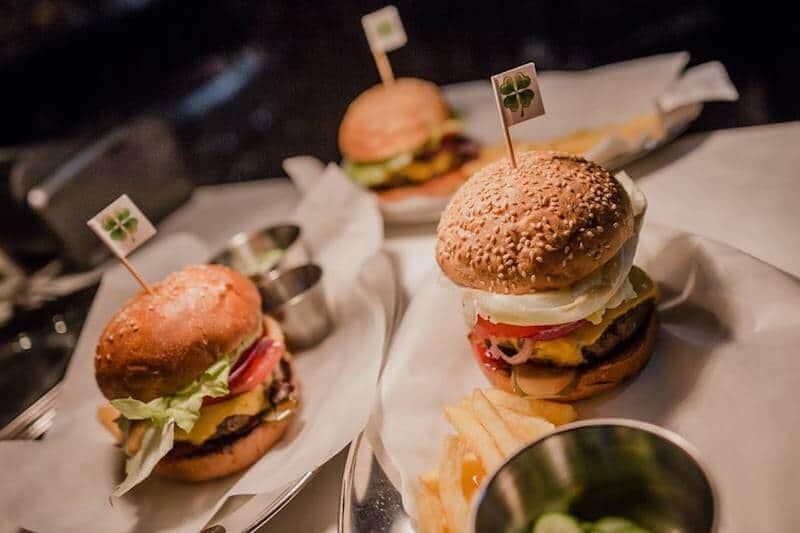 three burgers best burgers Kiev