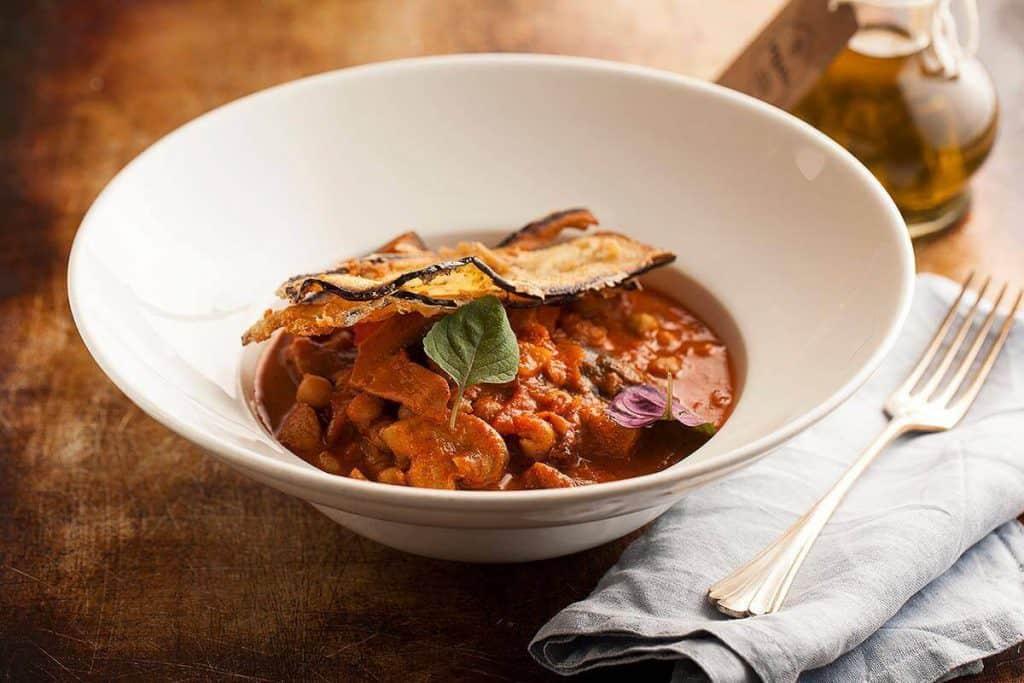 My Favorite Krakow Restaurants | The 16 Best Restaurants In Krakow, Poland - Veganic - delicious and savory spicy chickpea stew