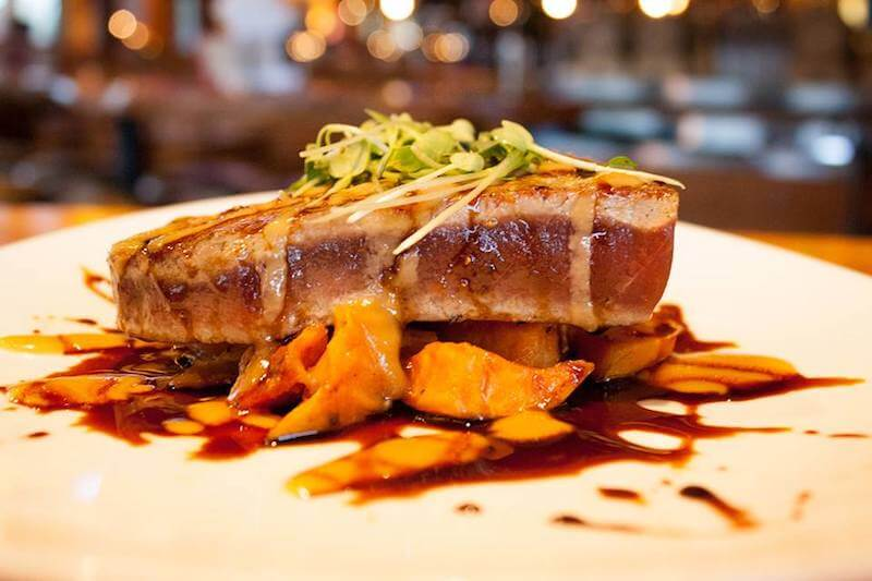 grilled ahi tuna Vancouver WA restaurants