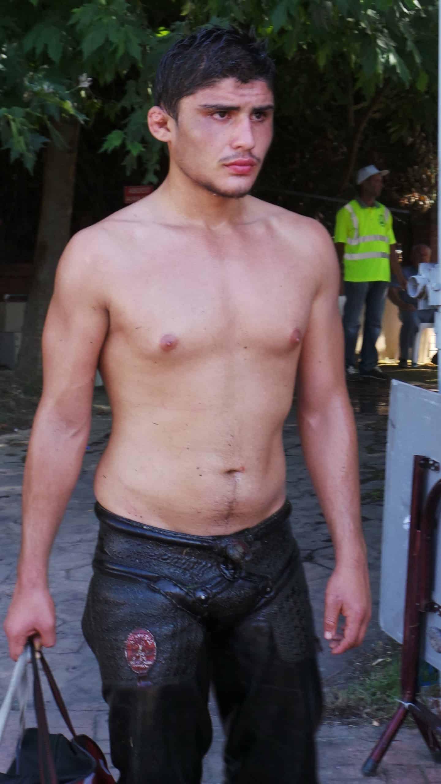 turkish oil wrestler
