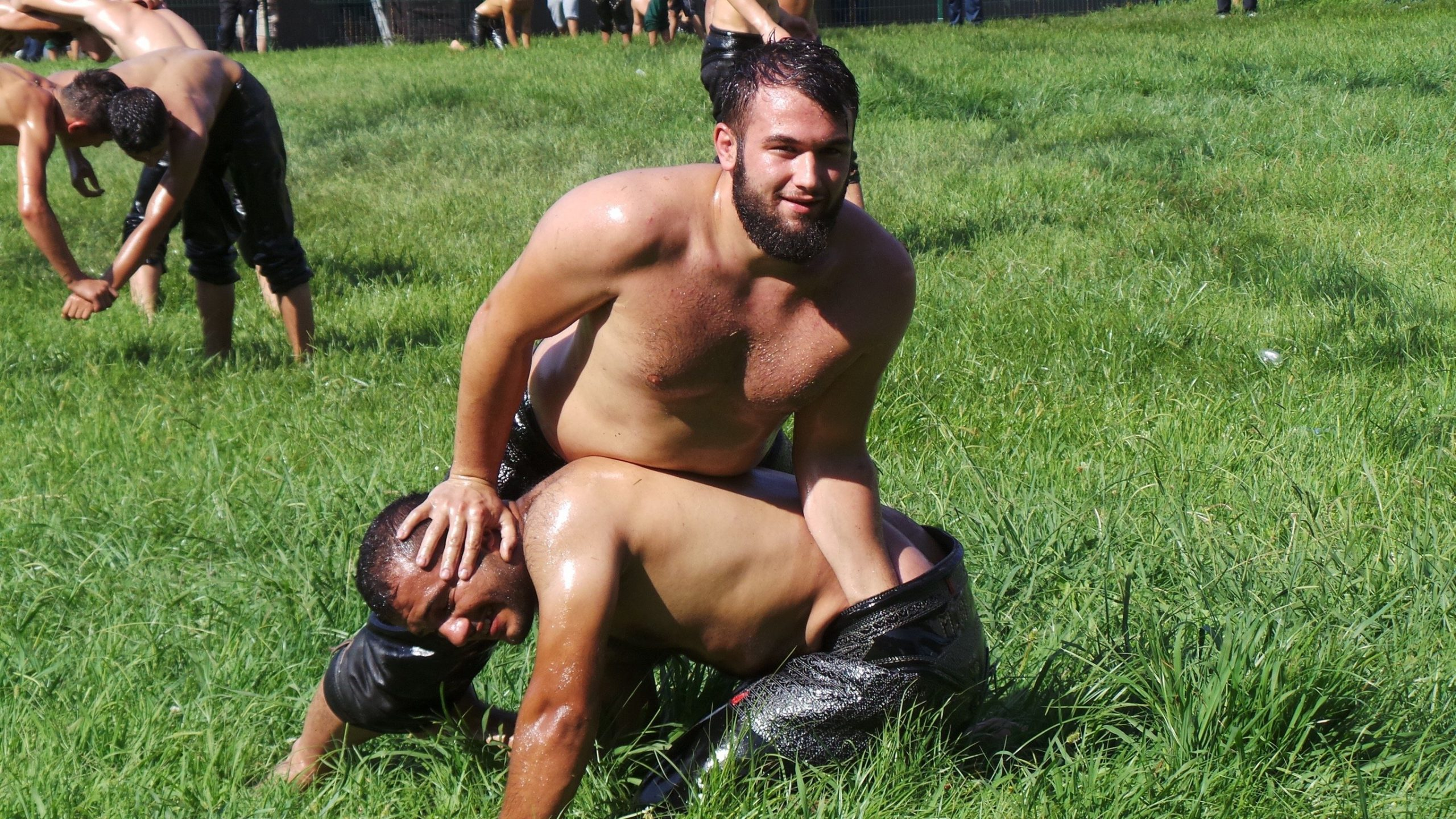 Turkish Oil Wrestling | The National Sport of Turkey | Foodie Flashpacker