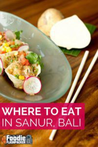 Even asone of the smaller, quieter areas of Bali, Sanur is full of amazing places to eat. Options range from local food to Western choices and everything in between. No matter what you're craving, you're sure to be able to find it. In this post I will cover the bestrestaurants in Sanur, Bali.