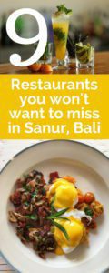 Even as one of the smaller, quieter areas of Bali, Sanur is full of amazing places to eat. Options range from local food to Western choices and everything in between. No matter what you're craving, you're sure to be able to find it. In this post I will cover the best restaurants in Sanur, Bali.
