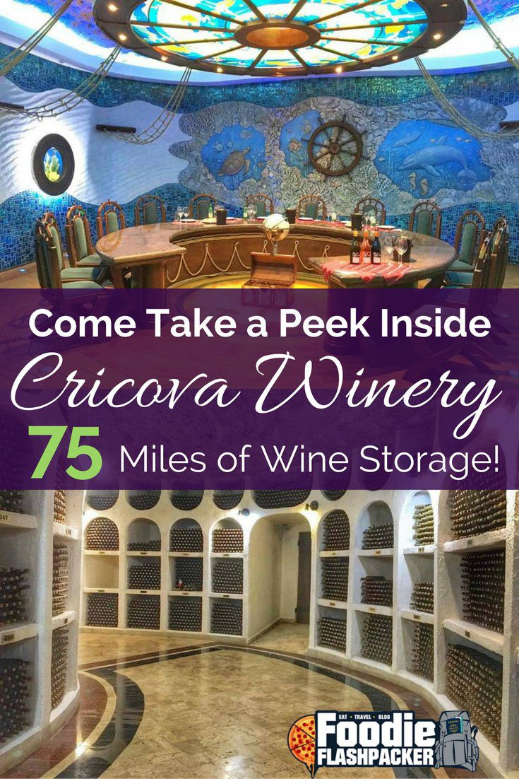 Cricova Winery is the second largest wine cellar in the world, with some 75 miles (120 kilometers) of underground wine storage. Let me repeat that: 75 miles worth of underground wine storage. And it's not even the largest in the world, though one day it could be, as some tunnels are still being excavated.