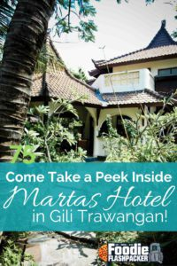 Martas Hotel is a small family run property found on the island of Gili Trawangan, Indonesia. Find out about my stay and what I thought of the hotel by reading my review!