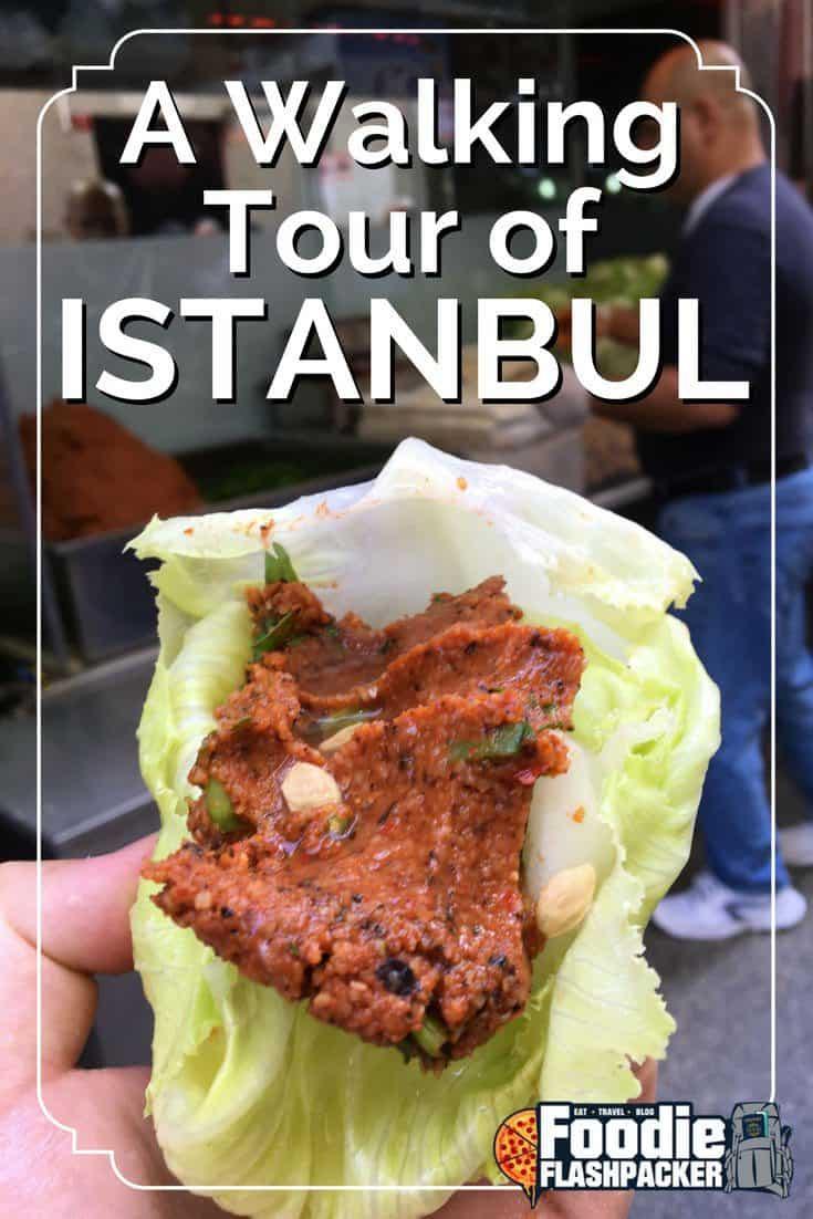 walking tour istanbul serif yenen