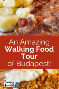 After recently joining Taste Hungary for their Jewish Cuisine Walking Food Tour, I next joined them for their Buda Food Walk to learn more about the interesting history of the city and try the unique food.
