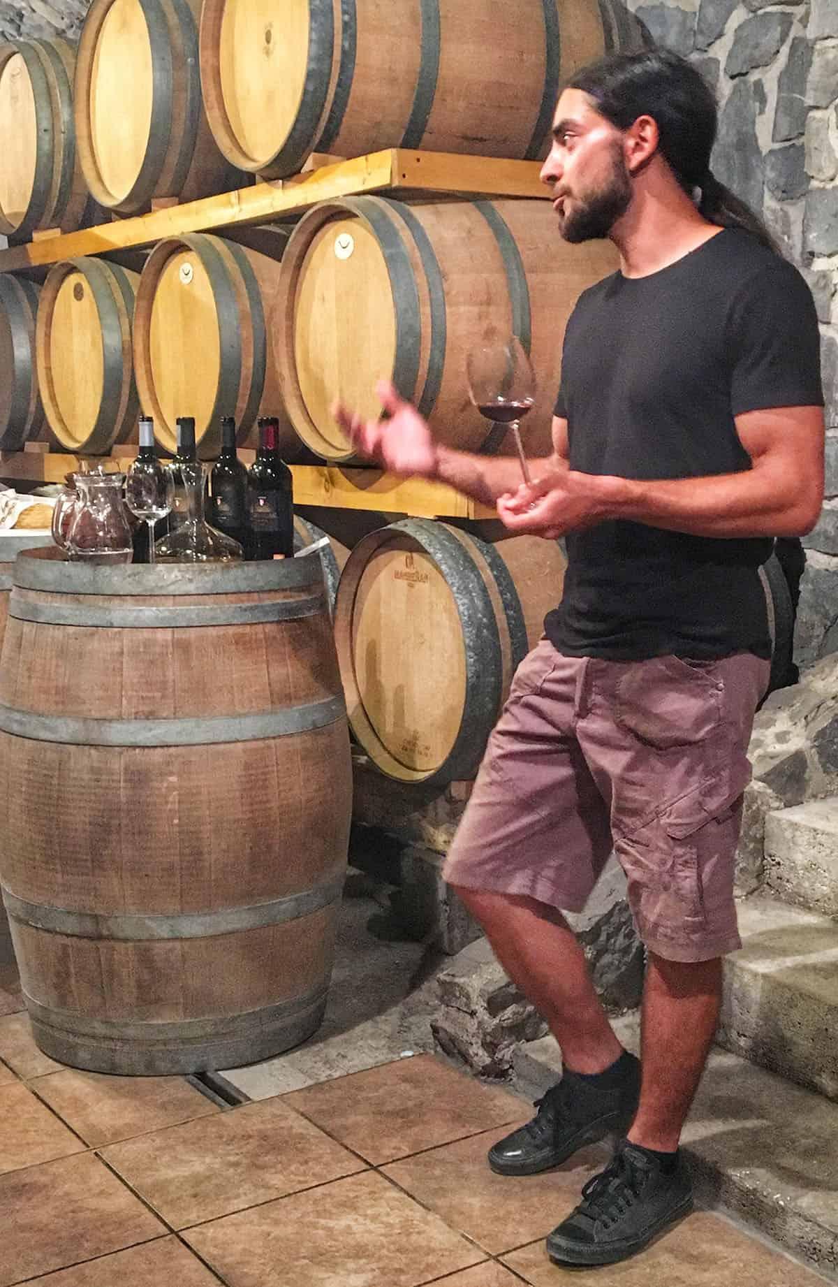 Vipava Slovenia Winestronaut