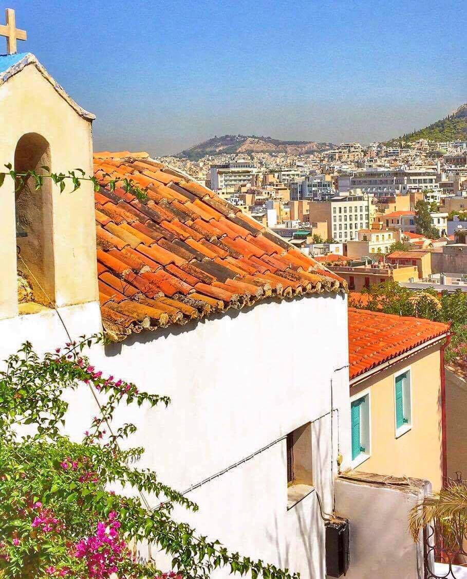 walking food tour of Athens greece