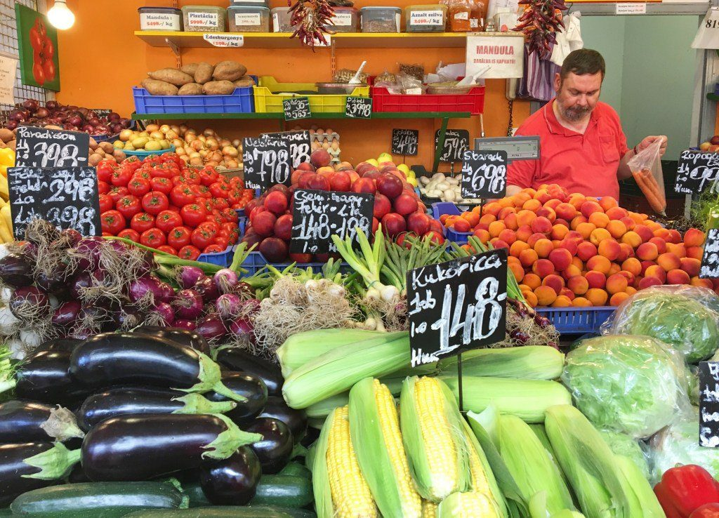 Farmer's Market in Budapest - Click to see the tour - Join Taste Hungary for their Buda Food Walk to learn more about the interesting history of the city and try the unique food.