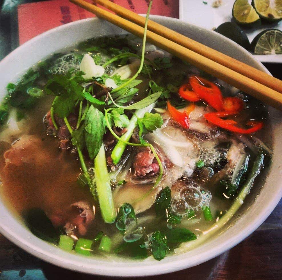 Pho Bo - Must Eats in Hanoi, Vietnam