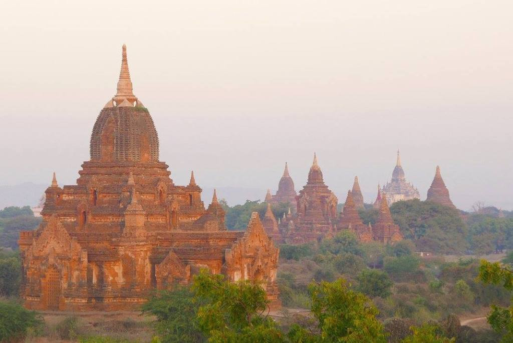 The Temples of Bagan-Although Myanmar, formerly known as Burma,  is fast becoming a part of the trail for backpackers visiting Southeast Asia, it is still possible to visit and feel as though you're one of the first to discover this amazing country. But, as you'll hear from anyone who has been, the best time to go is now or as soon as possible.