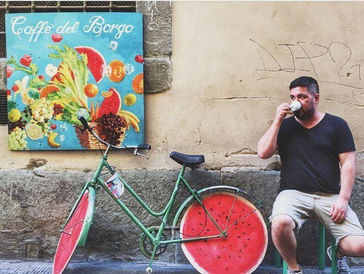 coffee on the streets of Florence - How to experience Florence, Italy in 24 hours.