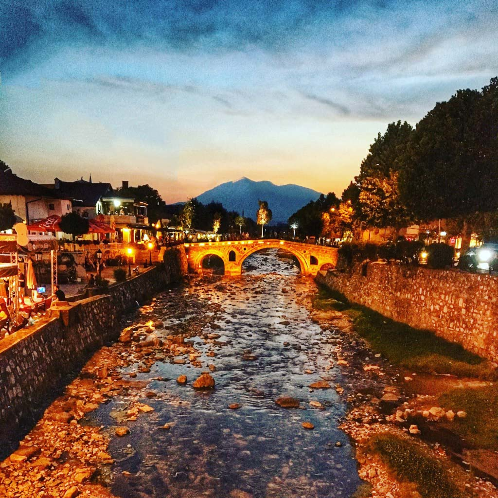 sunset - A Guide to Prizren, Kosovo