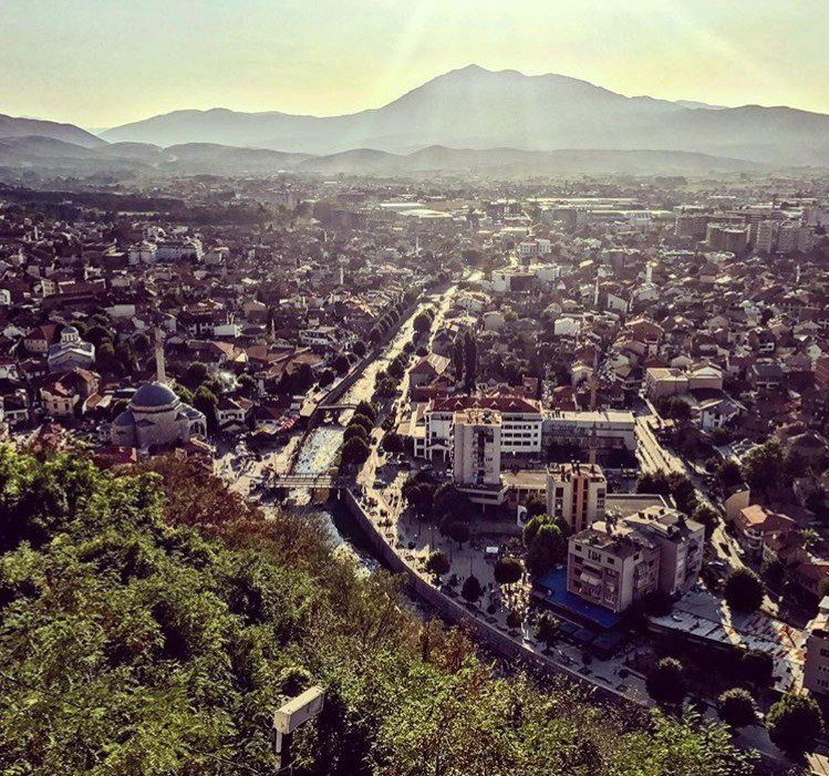 view from the city atop Kalaja Fortress - A Guide to Prizren, Kosovo