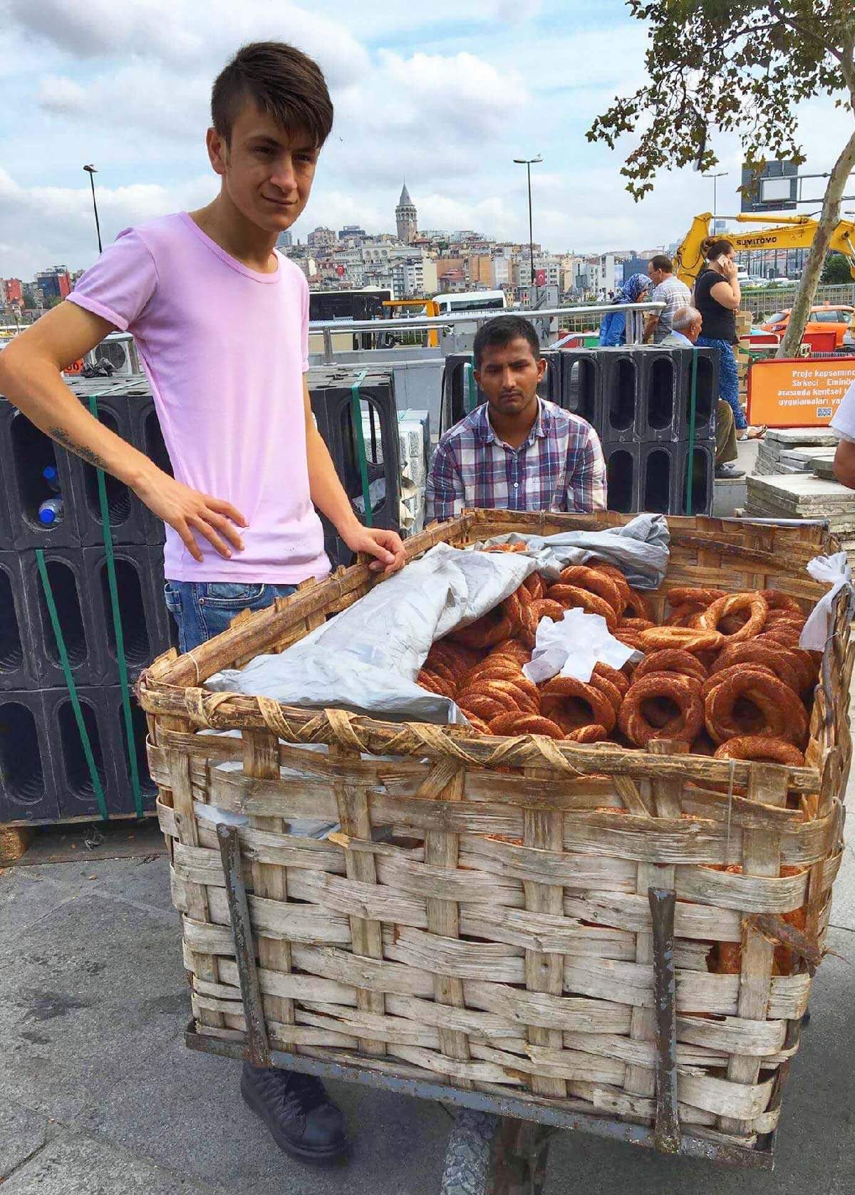 A Walking Food Tour of Istanbul, Turkey
