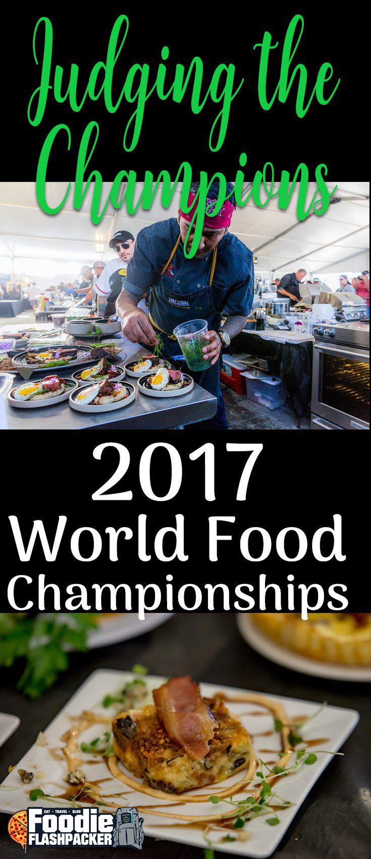 Find out more about the World Food Championships, one of the biggest events in United States food sports. Over 400 teams compete each year for a grand prize of $100,000.