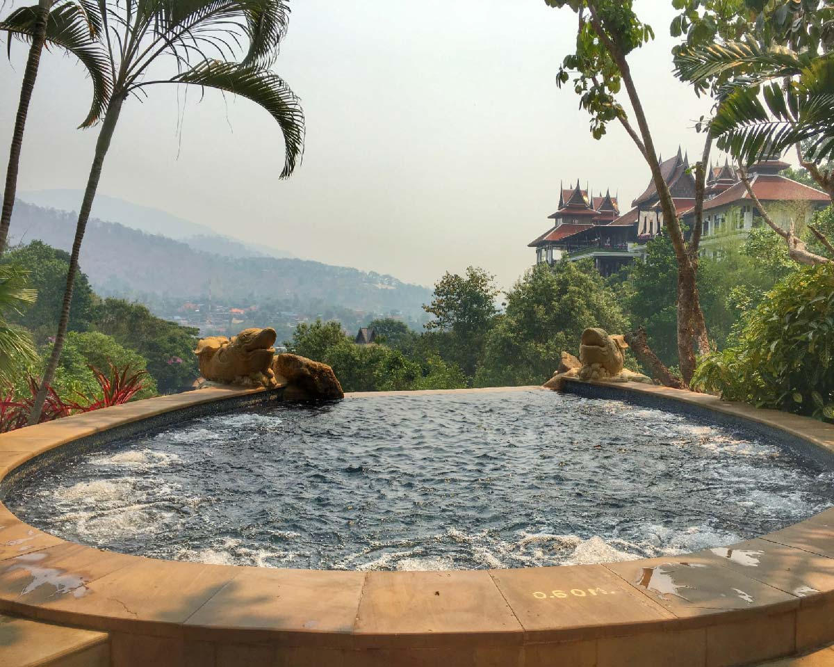 Where to stay in Chiang Mai- the Panviman Spa Resort