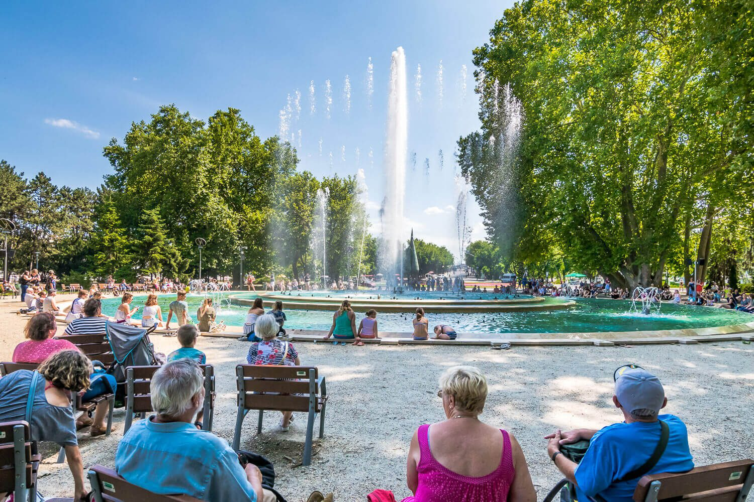 fountain on Margaret Island, best things to do in Budapest