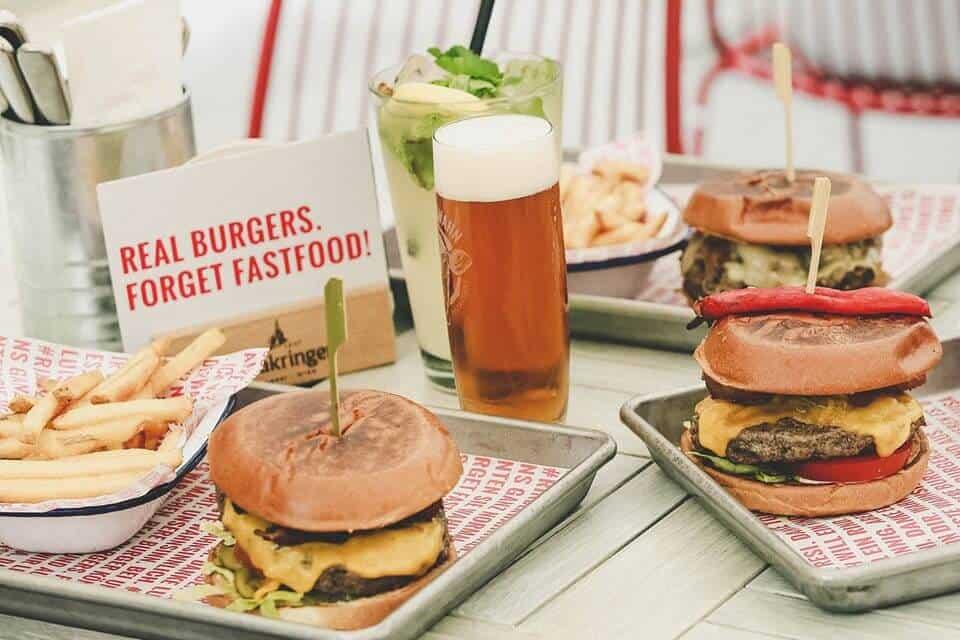 best burgers Vienna restaurants