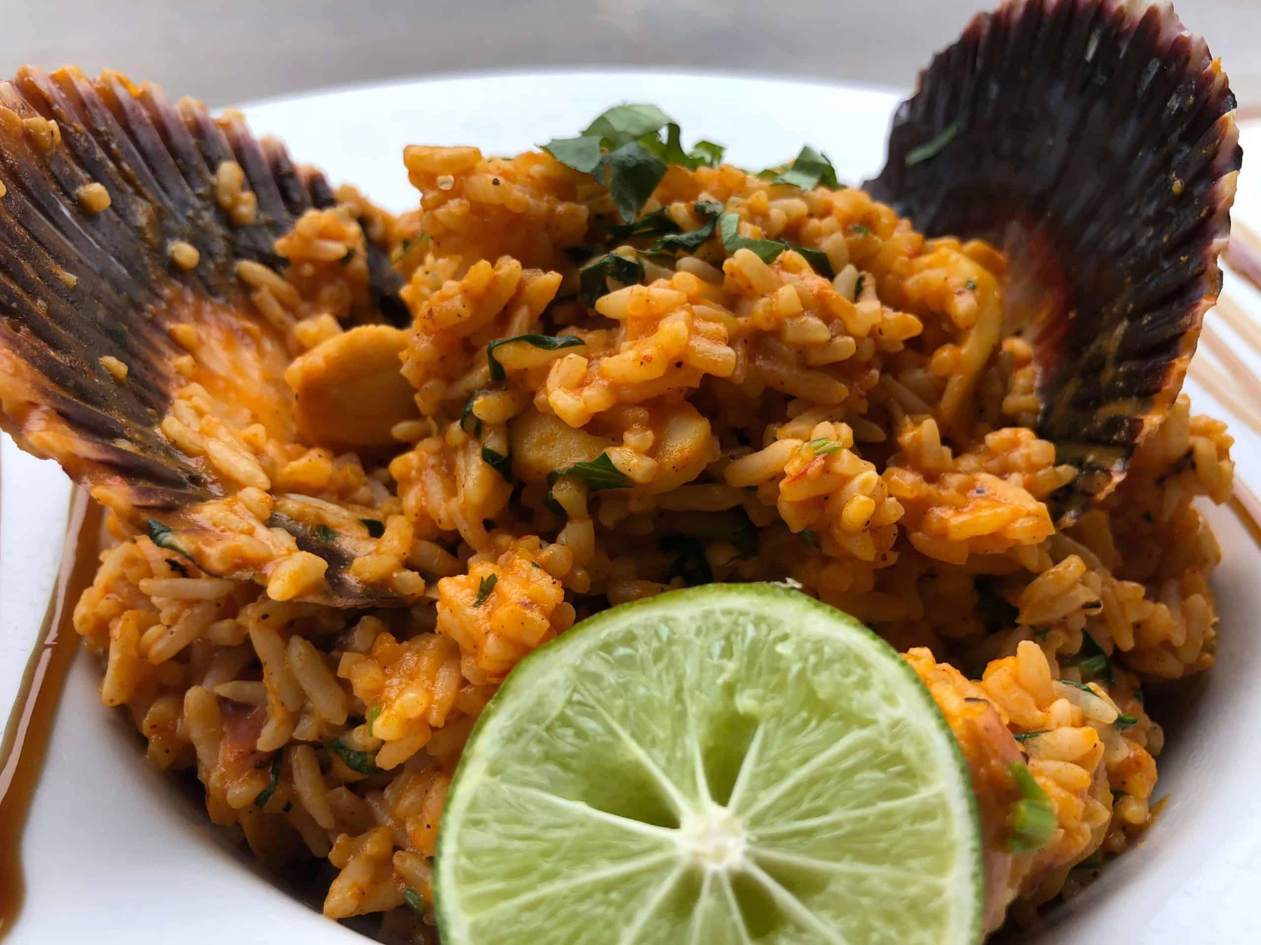 arroz con mariscos peruvian cuisine peruvian dish peruvian food