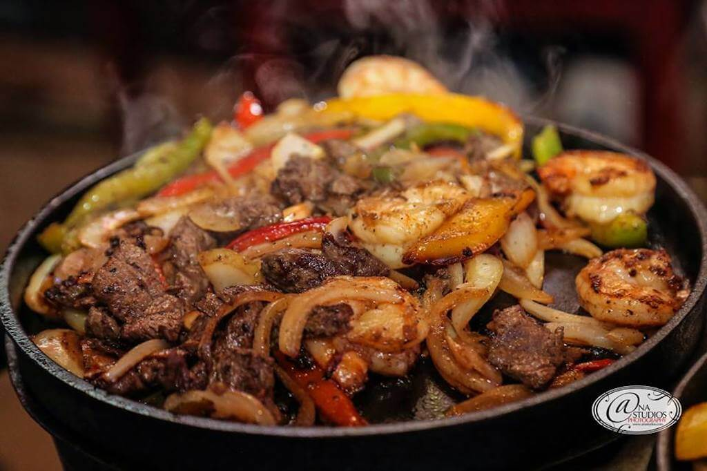 sizzling plate of fajitas restaurants in Summerlin, Las Vegas