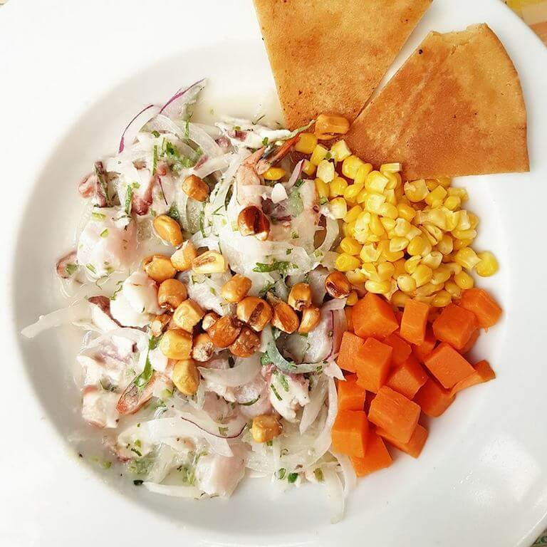 peruvian ceviche dish top restaurants in san miguel de allende
