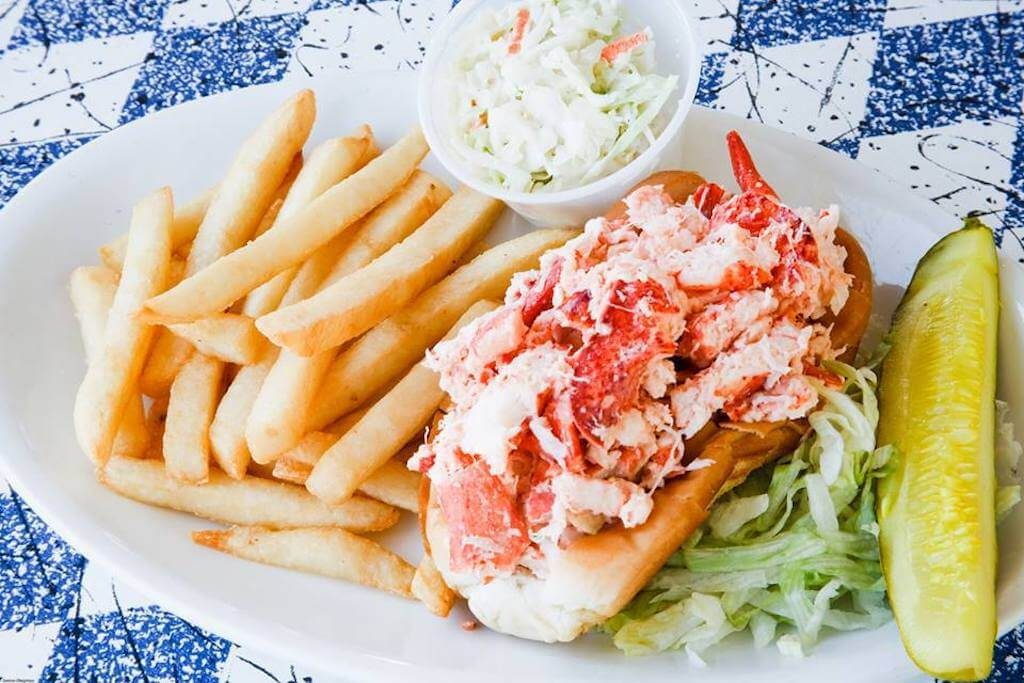 lobster roll and fries Cape Cod restaurants