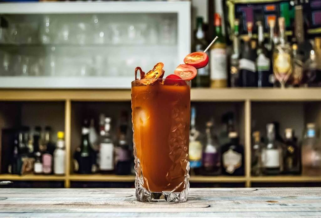 Bloody Mary places to eat in Vallejo CA