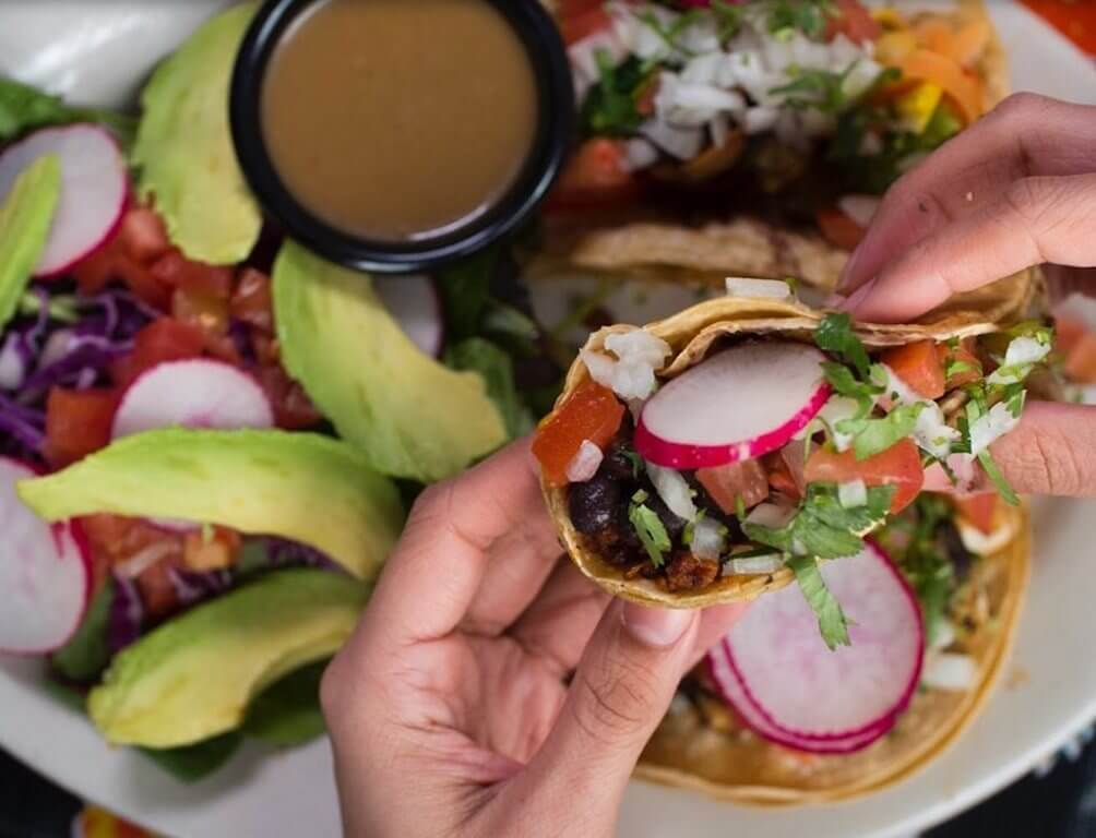 plate of tacos Mequon top restaurants