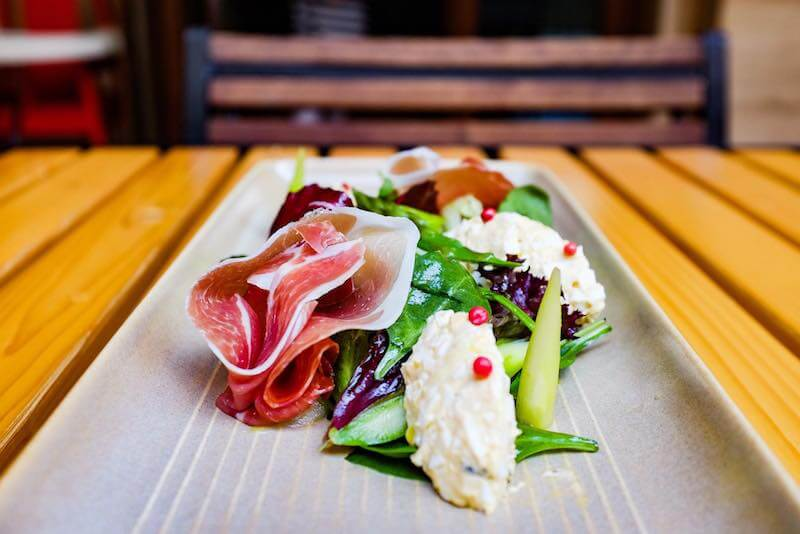 charcuterie plate Sofia restaurants