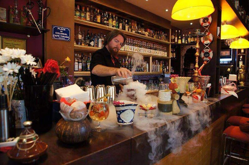 The best restaurants in Tirana, Albania - Colonial Bar