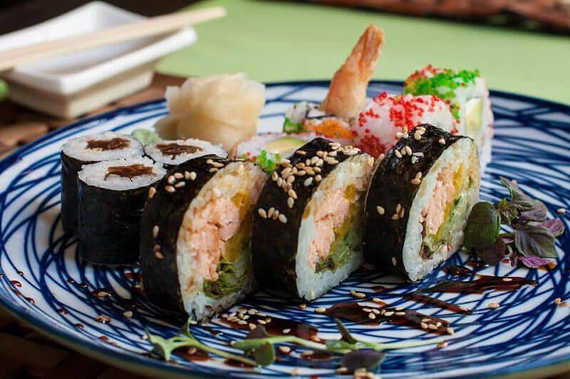 My Favorite Krakow Restaurants | The 16 Best Restaurants In Krakow, Poland - Edo Fusion - Sushi