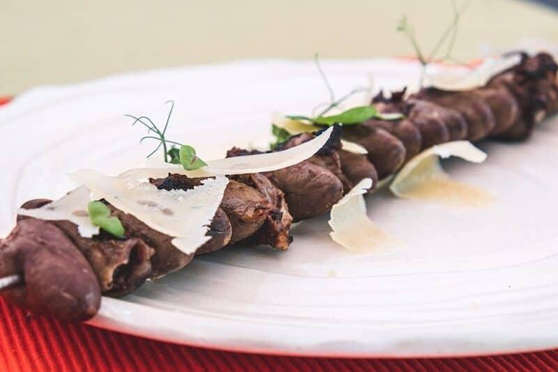 meat skewer fine dining sofia