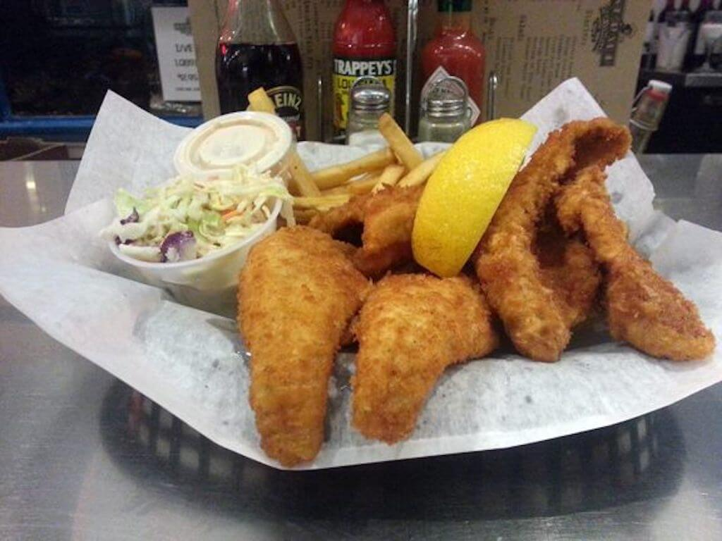 fried fish with coleslaw restaurants in Mequon