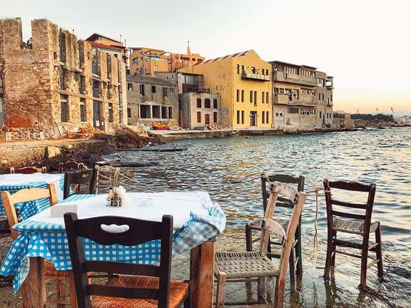 The 10 Best Chania Restaurants - Where to Eat on Chania, Crete, Greece - Thalasino Ageri