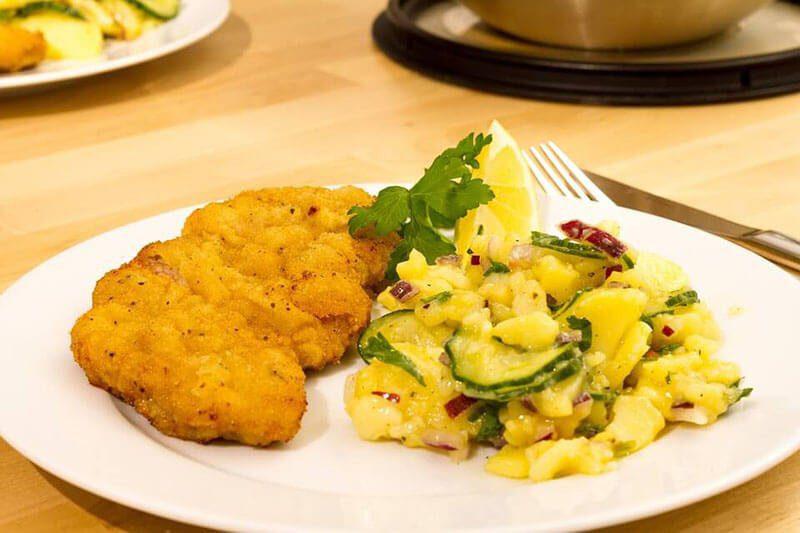 Where to Find the Best Schnitzel in Vienna, Austria- Cafe Anzenberger