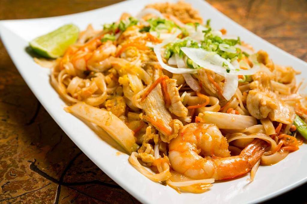 Asian stir fry with shrimp best Mequon restaurants
